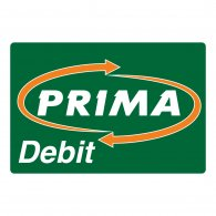 Logo of Prima debit green