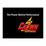 Logo of Crown Battery-Deep Cycle