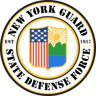 Logo of New York State Guard (full color)