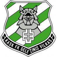 Logo of FK Gelezinis Vilkas Vilnius (early 90's logo)