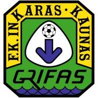 Logo of FK Inkaras-Grifas Kaunas (mid 90's logo)