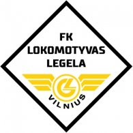 Logo of FK Lokomotyvas-Legela Vilnius (late 90's logo)