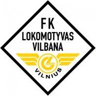 Logo of FK Lokomotyvas-Vilbana Vilnius (late 90's logo)