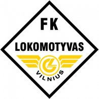 Logo of FK Lokomotyvas Vilnius (mid 90's logo)