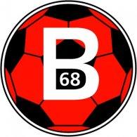 Logo of B68 Toftir (1990's logo)