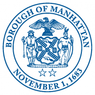 Logo of Seal of Borough of Manhattan