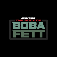 Logo of star wars the book of boba fett