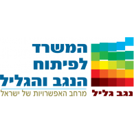 Logo of Ministry of Development of the Negev and Galilee