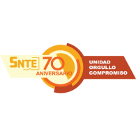 Logo of SNTE 70 Aniversario