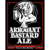 Logo of Arrogant Bastard Ale