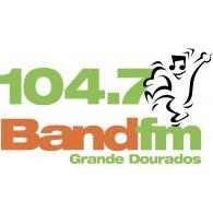 Logo of 104.7 BAND FM Grande Dourados