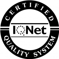 Logo of IQNET Certified Quality System