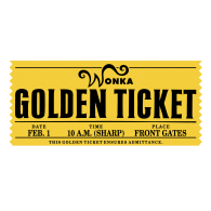 """photograph about Wonka Golden Ticket Printable named Wonka Golden Ticket Manufacturers of the Worldâ""""¢ Down load vector"""
