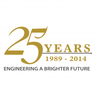 Logo of Engineering a Brighter Future 25 years