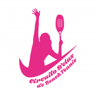 Logo of Circuito D'elas de Beach Tennis