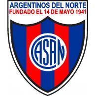 Logo of Club Atlético y Social Argentinos del Norte de General Roca Río Negro 2019