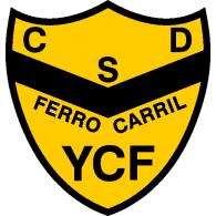 Logo of Club Social y Deportivo Ferrocarril YCF de Río Gallegos Santa Cruz 2019
