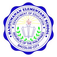 Logo of Handumanan Elementary School - 1