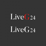 Logo of LiveG24 | Dark Version