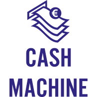 Logo of cash machine
