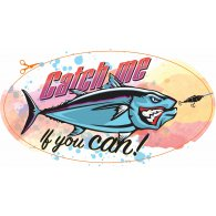 Logo of Catch me if you can Sticker