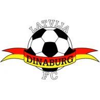 Logo of FC Dinaburg Daugavpils (late 90's logo)