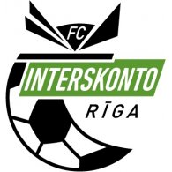 Logo of FC Interskonto Riga (mid 90's logo)