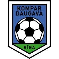 Logo of FK Kompar-Daugava Riga (early 90's logo)