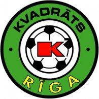 Logo of FK Kvadrats Riga (90's logo)