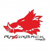 Logo of razorback tires