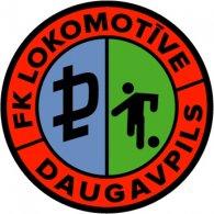 Logo of FK Lokomotive Daugavpils (mid 90's logo)