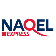 Logo of Naqel Express English Logo