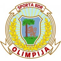 Logo of FK Olimpija BDR Liepaja (early 90's logo)