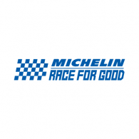 "Logo of Gran Turismo & Michelin ""Race for Good"""