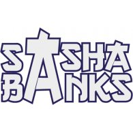 Logo of WWE Sasha Banks