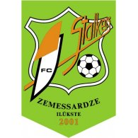 Logo of FC Stalkers-Zemessardze Ilukste (early 00's logo)
