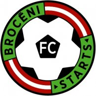 Logo of FC Starts Broceni (early 90's logo)