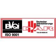 Logo of BVQI ISO 9001 DAR