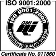 Logo of ISO QMI 9001