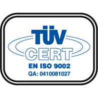 Logo of ISO TUV CERT