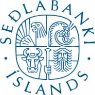 Logo of Seðlabanki Íslands