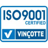 Logo of ISO9001 Vincotte