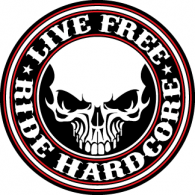 Logo of Live Free Ride Hardcore