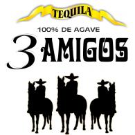 Logo of 3 Amigos Tequila