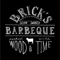 Logo of Brick's BBQ