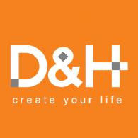Logo of D&H