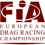 Logo of FIA - European Drag Racing Championship