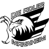Logo of Die Adler Mannheim
