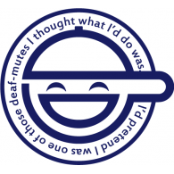 Logo of The Laughing Man - Ghost In The Shell