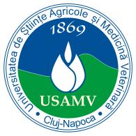 Logo of Universitatea de Ştiinţe Agricole şi Medicină Veterinară Cluj-Napoca USAMV